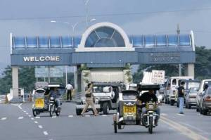 Entrance to Clark Special Economic Zone, Philippines